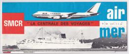 """Billet De Passage """"Cie Gle Transatlantique, French Line"""" De Fort De France à 1 Port Européen Le 6.8.74, Publicité """"BNP"""" - Billets D'embarquement De Bateau"""