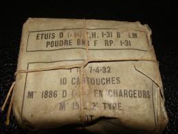 Munitions 8 X 50 R (mousqueton:lebel) - Army & War