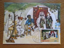 Maximumkaart, Kibris Turk Federe Devleti Postalari   --> Unwritten (with Nice Stamps) - Turchia