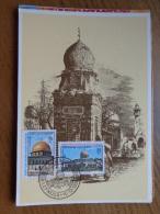 Maximumkaart, Kibris Turk Federe Devleti Postalari  --> Unwritten (with Nice Stamp At Front) - Turchia