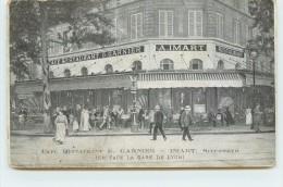 PARIS - Café Restaurant G.Garnier (en Face De La Gare De Lyon). - Arrondissement: 12