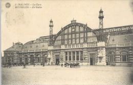 Mechelen - De Statie --- Malines - La Gare - Mechelen