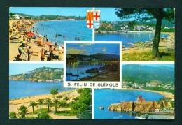 SPAIN  -  San Feliu De Guixols  Multi View  Used Postcard As Scans - Other