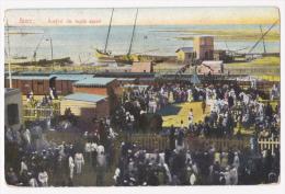 Suez - Arrivée Du Tapis Sacré (il Y A Foule En Gare Pour Réceptionner Le Tapis Sacré) Circulé 1909 - Suez