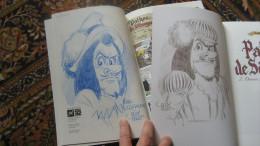 Pathos De Sétungac Paape Hubinon Limité Inédit Dédicacé Dessin Signé Dedicace Signature Spirou Tintin - Bücher, Zeitschriften, Comics