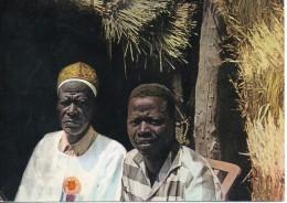 tchad. le chef de m'balkabra et son fils