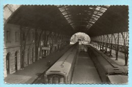 Foto Cartolina PORT-BOU (Gerona): Estacion Internacional - Stazione Internazionale - Eisenbahnen
