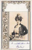 [DC4526] CARTOLINA - DONNA - EDGAR DRESDEN BUDAPEST - SERIE 7022 - Viaggiata - Old Postcard - Femmes