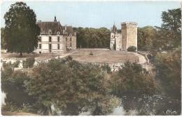 Dépt 79 - SAINT-LOUP-LAMAIRÉ - Donjon (XIVè Siècle) Et Château (XVIIè S.) De Saint-Loup-sur-Thouet - (CPSM 8,8 X 14 Cm) - Saint Loup Lamaire