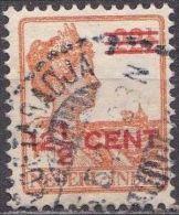 Ned. Indië: Langebalkstempel KOETARADJA Op 1921-1922 Hulpuitgifte Koningin Wilhelmina 12 ½  / 22 ½  Ct  NVPH 143 - Indes Néerlandaises