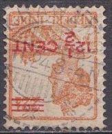 Ned. Indië: Langebalkstempel KRAWANG Op 1921-1922 Hulpuitgifte Koningin Wilhelmina 12 ½  / 22 ½  Ct  NVPH 143 - Indes Néerlandaises