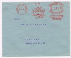 T6. Allemagne EMA 9372. Silva Margarine Fabrik. Wuppetal-Elberfeld 20.11.31 - Food