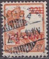 Ned. Indië: Langebalkstempel SIBOGA Op 1921-1922 Hulpuitgifte Koningin Wilhelmina 12 ½  / 22 ½  Ct  NVPH 143 - Indes Néerlandaises
