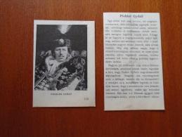 Hungary -Pichler Gyözö  1904 -Hungarian Print  S0418 - Historical Documents