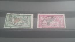 LOT 258113 TIMBRE DE FRANCE OBLITERE N�207/208 VALEUR 57 EUROS