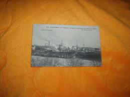 CARTE POSTALE ANCIENNE CIRCULEE DE 1908. / VUE GENERALE DE MISSIESSY PENDANT L'EXPLOSION DU CUIRASSE IENA. - Warships