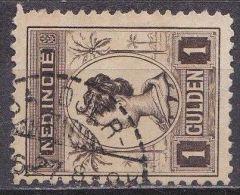 Ned. Indië: Langebalkstempel BANDJER-MASIN Op 1913-31 Koningin Wilhelmina 1 Gulden Bruin  NVPH 132 B - Indes Néerlandaises