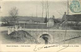Dept Div -yonne -ref U682- Malay Le Grand - Le Pont De Sens  - Carte Bon Etat - - France