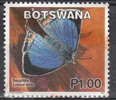 Botswana, 2007 - 1p Butterfly - Nr.848 Usato° - Botswana (1966-...)