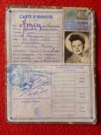 CARTE IDENTITE TIMBRE FISCAL ALGERIE IMPOT DU TIMBRE - Historische Dokumente
