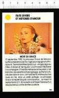 Mort De La Princesse Grace De Monaco / Grace KELLY  /  167-ES-FD/3 - Unclassified
