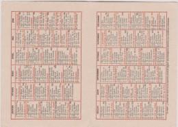 Calendrier :  1941 , Oeuvre De Saint Pierre  Apotre - Calendriers