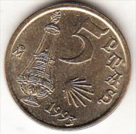 ESPAÑA 1993. 5 PESETAS.AÑO  JACOBEO '93 NUEVA SIN CIRCULAR.CN4331 - [ 5] 1949-… : Reino