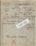 VP1713 - Charbons Anglais - Usine A Briquettes à SAINT - NAZAIRE - A. DURAND & Cie à NANTES - France