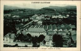 09 - LAROQUE-D´OLMES - école - Usines - France