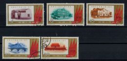 """VR China 1961 """"40 Jahre Kp China"""",  MiNr. 597-601 Zustand: Gut - 1949 - ... Volksrepublik"""