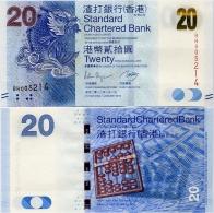 HONG KONG - SCB     20 Dollars     P-297b      1.1.2012         UNC - Hong Kong