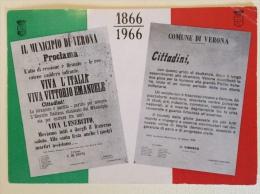 Centenari Dell'Unione All'Italia 1866-1966 Verona Data 16/10/1966 - Eventi