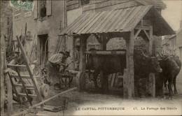 15 - Le Cantal Pittoresque - Ferrage Des Boeufs - France