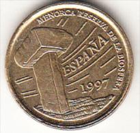 ESPAÑA 1997. 5 PESETAS.ISLAS BALEARES.MENORCA NUEVA SIN CIRCULAR.CN4332 - 5 Pesetas