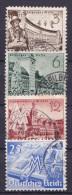 Duitsland - DEUTSCHES REICH - 1939 - Y&T Nr. 663......666 -gestempeld/oblt./gebraucht - ° - Deutschland