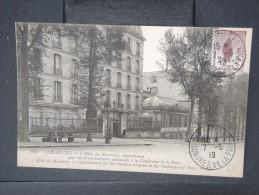 """FRANCE- Oblitération """" Versailles  Congrés De La Paix """" Sur Cp  En 1919 à Voir    P4763 - Marcofilia (sobres)"""