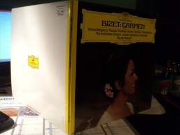 33 TOURS BIZET. 1979. CARMEN. DEUTSCHE GRAMMOPHON 2537 049 TERESA BERGANZA / PLACIDO DOMINGO / ILEANA COTRUBAS - Klassiekers