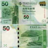 HONG KONG - BoC         50 Dollars        P-342c       1.1.2013       UNC - Hong Kong