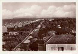 RICCIONE - Lungo Il Littoraneo, Fotokarte 1935 - Italia