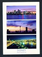 AUSTRALIA  -  Sydney  Multi View  Used Postcard As Scans - Sydney