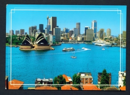 AUSTRALIA  -  Sydney  Aerial View  Used Postcard As Scans - Sydney