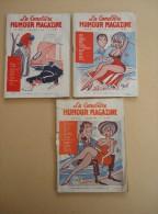 Lot De 3 Revues - Humour Magazine LA CANEBIERE - Nos 136, 130, 122 - - Humour