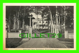 CHARLOTTETOWN, PRINCE EDWARD ISLAND -  GOVERNMENT HOUSE - PECO - - Charlottetown
