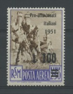SAN MARINO 1951 PRO ALLUVIONATI  FRANCOBOLLI NUOVO - Saint-Marin