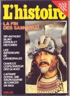 Revue L´ HISTOIRE N° 95 Décembre 1986 / Fin Des Samouraï , Batisseurs Cathédrales , Charcot Explorateur , Affaire - Histoire