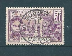 Colonie Timbre  De Nouvelle Calédonie De 1931  N°163 Oblitéré - Oblitérés