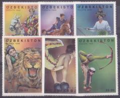 Ouzbekistan N°175/180 - Neufs ** - Superbe - Ouzbékistan