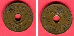 10 CENT    (km 34)  1951   TTB  5 - Colonie Britannique