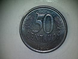 Brésil 50 Centavos 1994 - Brasil