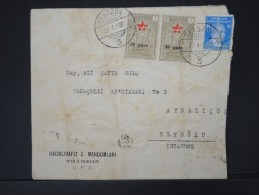 TURQUIE - Lettre Période 1930 / 1937 - Détaillons Collection - A étudier- Lot N° 6378 - Briefe U. Dokumente